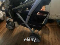 Chicco Cortina Twin Stroller Nice Condition
