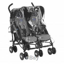 Chicco Echo Twin Stroller Coal