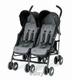 Chicco Echo Twin Stroller Coal, Brand New! Free Shipping