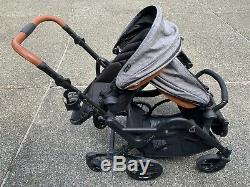 Contours Curve Tandem Double Stroller for Infants, Toddlers or Twins
