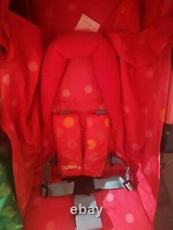 Cosatto Supa Dupa Double/Twin Stroller, Suitable from Birth, Dinomee and Mo