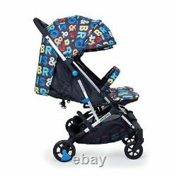Cosatto Woosh Double Twin Lightweight Stroller Pushchair Bro & Sis