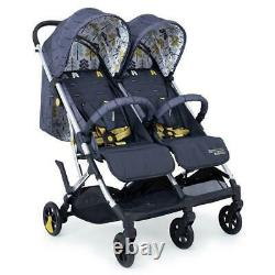 Cosatto Woosh Twin Fika Forest Double Pram Pushchair Brand New Boxed