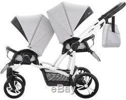 Double Stroller Bebetto 42 2in1 for twins wózek dla bliniaków 2w1