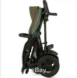 Double buggy built in buggy board tandem pram Micralite TwoFold Pushchair twins