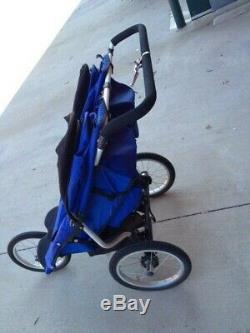 Dreamer Design Fitness First Twin/Double Jogger Jogging Stroller