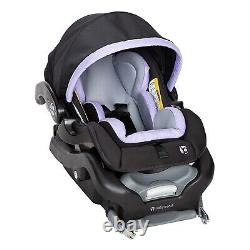 Elite Twins Baby Double Stroller Frame with 2 Car Seats Combo Nursery Center Bag