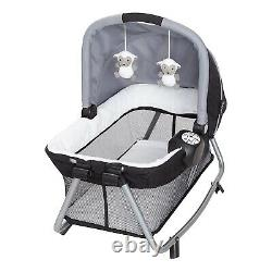 Elite Twins Baby Double Stroller with 2 Car Seats 2 Swings Playard Bag Combo Set