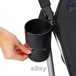 Evenflo Minno Twin Double Stroller, Glenbarr Grey