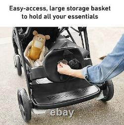 Graco Baby Ready2Grow 2.0 One-Step Fold Twin Double Stroller Rafa NEW