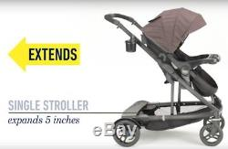 Graco Baby UNO2DUO Twin Tandem Double Stroller with Second Seat Hayden 2018 NEW