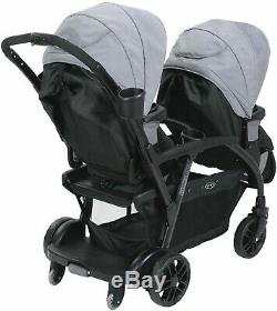 Graco Double Baby Stroller Travel Infant Twin Toddler Foldable Stroller New