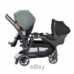 Graco Modes Reversible Tandem Stroller Twin Pushchair From Birth Baby Duo Buggy 08 au