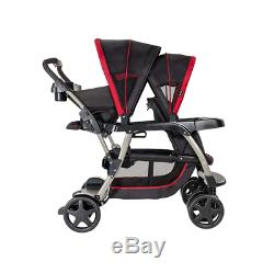 Graco Ready2Grow Double Twins Pushchair Chilli Sport Multi-position Recline Seat