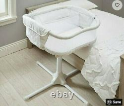 Halo Bassinest Twin Sleeper Double Bassinet Premiere Series Sand Circle
