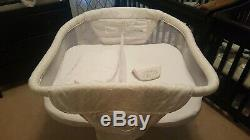 Halo Bassinest Twin Sleeper Double Bassinet with extra sheets & Manual