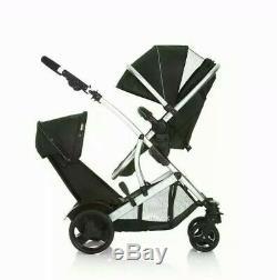 @ Hauck Duett 2 Double Tandem Twin Pushchair Pram Stroller Buggy 2221