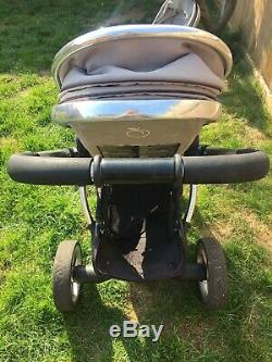 ICandy Baby Peach Blossom Single / Double Twin Stroller buggy pushchair GREY