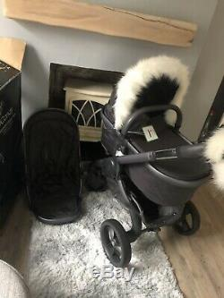 ICandy Peach Dusk Designer Collection With New Matching Cot And Extras
