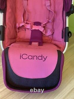 ICandy Peach Twin / Double / Second Seat Unit Fuchsia Pink