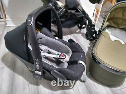Icandy Peach 4 Blossom/Double/Twin in OLIVE Travel System