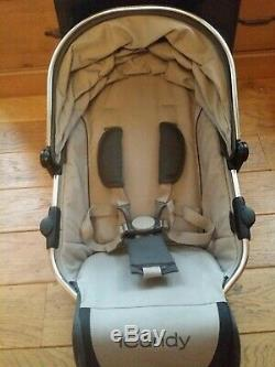 Icandy Peach Converter Seat ex demo Lower Seat Blossom Twin Double Seat truffle