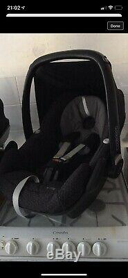 Icandy Peach Truffle 2 Twin/double Car Seat Excellent Condition New Boxed Cot