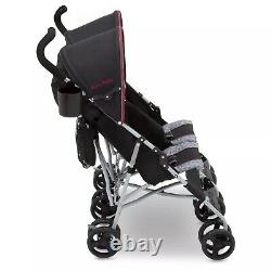 Jeep Scout Double Stroller Baby Pram for Twins 2 Babies Double Rear Canopy