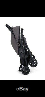 Joie Aire Pink/Blue Twin Stroller With Raincover