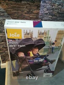 Joie Aire Twin Stroller Rosy & SeaBrand new boxed next day delivery