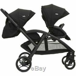 Joie Evalite Duo Twin Stroller Two Tone Black