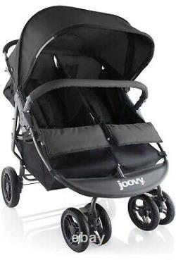 Joovy Scooter X2 Double Stroller, Side by Side Stroller, Stroller for Twins