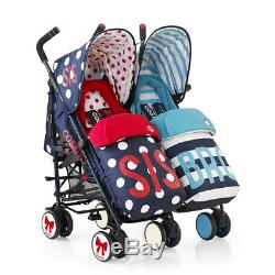 Lightweight Twin pushchair Supa Dupa Sis & Bro 5 Cosatto