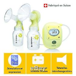 MEDELA Freestyle DOUBLE Electric Breastpump with Calma NEW +WARRANTY (twin)