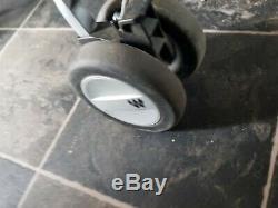 Maclaren Twin Techno Silver Grey/Charcoal Standard Double Seat Stroller