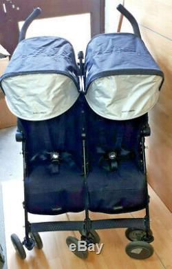 Maclaren Twin Techno Stroller-Black
