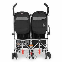 Maclaren Twin Triumph Black/Charcoal Open Box