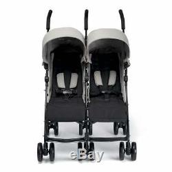 Mamas & Papas Cruise Twin Buggy Folding Buggy Grey Marl Ex Display