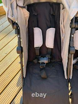 Mamas and Papas Cruise Double/Twin Pushchair Buggy Used Twice! RRP £169.99