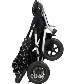 Mountain Buggy 2020 Duet V3 Double Twin Buggy Baby Stroller in Grid