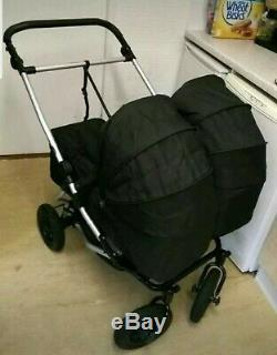Mountain Buggy Duet With Twin Carrycots, Car Seats Etc