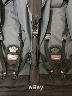 Mountain buggy duet complete twin sets with car seats etc