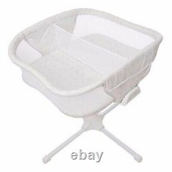 NEW Halo Bassinest Twin Bedside Sleeper Double Bassinet Sand Circles