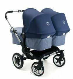 New Bugaboo Donkey 2 Read Description Complete Twin Sets, 2 Seats, 2 Carrycots