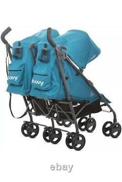 New Joovy Ultralight Umbrella Stroller Twin Groove Ultralight Turq
