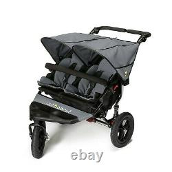 Out n About DOUBLE Nipper 360 V4 (Steel Grey) All Terrain for Twins, RRP £599.00