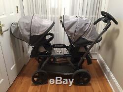 Peg Perego Duette Stroller Double twin Twins