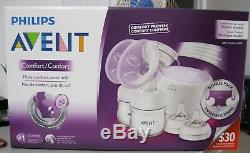Philips Avent Natural Twin Electric Breast Pump Comfort Proven Bpa Free Double