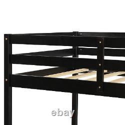 Plywood Bunk Beds Frame Over Twin Bed Ladder For Kids Adult Bedroom Child
