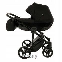 Premium Twin Pram Junama Diamond Duo Double Buggy Baby Twins Stroller Pushchair